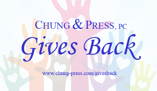 Chung & Press Gives Back - NEW copy